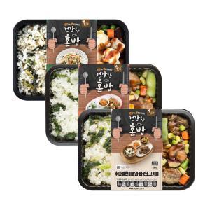 [에스앤씨] 나물밥3종(곤드레+미트볼/어수리+닭가슴살큐브/취나물+버섯소고기볼)