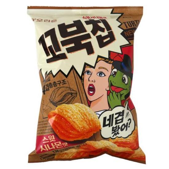 [메가마트] 오리온 꼬북칩 시나몬 136g