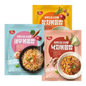[동원] 하루도정신선쌀 볶음밥세트 새우볶음밥 450g+낙지볶음밥 450g+신선쌀 참치볶음밥 450g