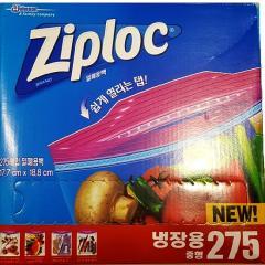[코스트코(특가)] 지퍼락(ZIPLOC) 스마트지퍼백 중형(275매) 17.7cm x 19.5cm