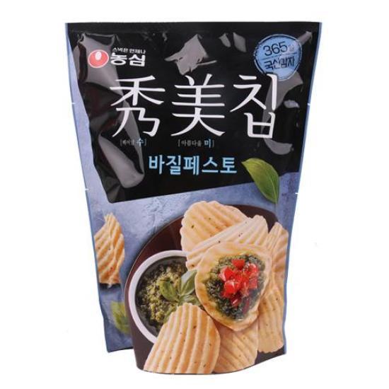 [메가마트] 농심 수미칩 바질페스토 100g