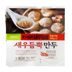 [메가마트] 풀무원 새우 듬뿍 만두 300g*2