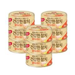 [만원의행복★참치][동원] 건강한 참치 셀레늄엽산 100g*6캔