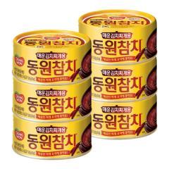 [만원의행복★참치][동원] 김치찌개용 참치 100g*6캔