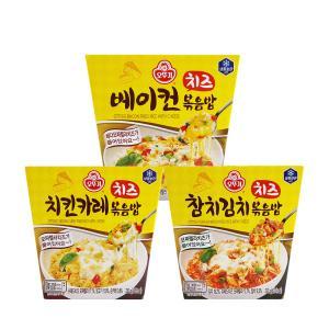 오뚜기 치즈볶음밥 230G X 3개 /베이컨/참치/치킨카레