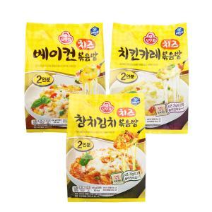 오뚜기 치즈볶음밥 450G X 3개 /베이컨/참치/치킨카레