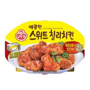 오뚜기 매콤한 스위트칠리치킨(렌지) 180g X 6개