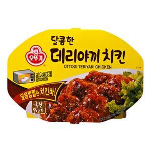 오뚜기 달콤한 데리야끼치킨(렌지) 180g X 6개