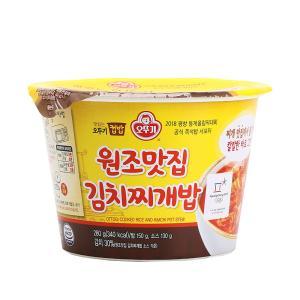 오뚜기 컵밥 원조맛집 김치찌개밥 X 4개