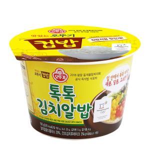오뚜기 컵밥 톡톡 김치알밥 X 4개