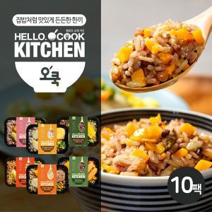 [오쿡] 영양밥 도시락 6종 혼합 10팩