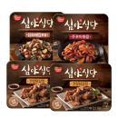 [동원] 강호동 물병증정! 심야식당 4팩(간장닭강정 200gx2팩+주꾸미볶음180g+닭모래볶음160g)