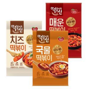 [동원] 떡볶이의 신 5종(국물/치즈/매운/튀김/떡강정)