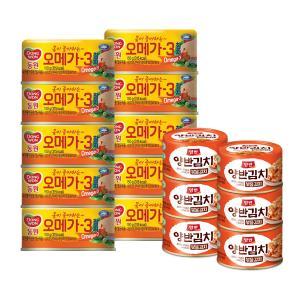 [동원] 오메가-3참치 150g*10+캔김치160g*6캔