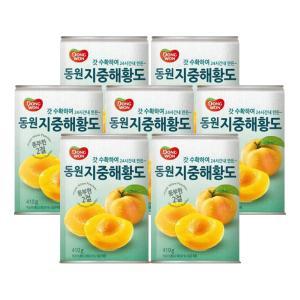 동원 지중해 복숭아 410g 7캔