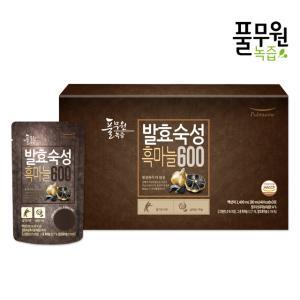 [풀무원 건강즙] 발효숙성 흑마늘600 (80mlx30포)