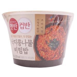 [메가마트] 햇반컵반 낙지콩나물비빔밥216G