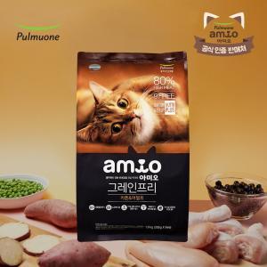 아미오 고양이사료 그레인프리 키튼&어덜트 1.8kg