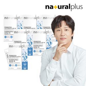 내츄럴플러스 프로바이오틱스 유산균 19 6박스
