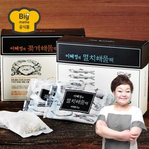 이혜정의 추석 선물세트 6호 (멸치 다시팩 3+꽃게 다시팩 2)