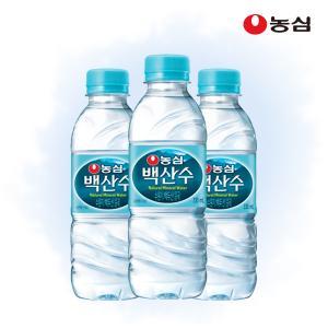 농심 백산수 330ml x 20병 생수 무료배송