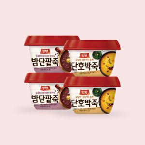 [동원] 양반 꿀호박죽 *6 + 밤 단팥죽*6