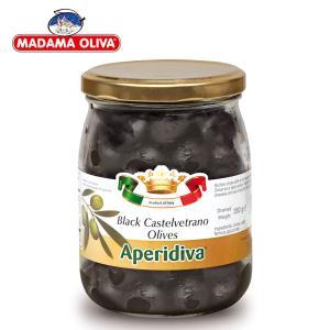 [마다마 올리바] 블랙 카스텔베트라 올리브 350g