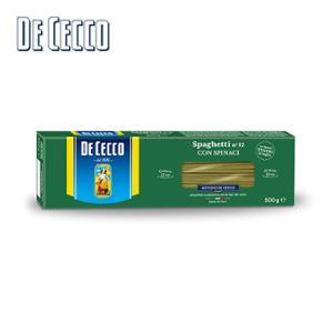 [데체코 DECECCO] 시금치 스파게티 500g