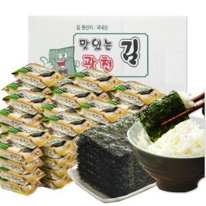 [맛있는 광천김] 광천 도시락김 총 108봉 (4gx108봉)
