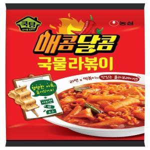 [메가마트] 쿡탐  매콤달콤 국물라볶이 390g