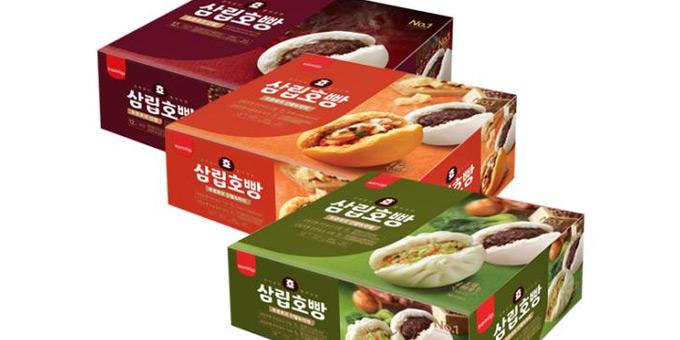 삼립 토종효모 호빵 12입 1박스 (단팥/단팥야채/단팥피자 택)