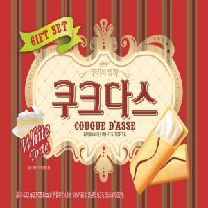 [메가마트] 크라운 쿠크다스화이트 3팩 432g