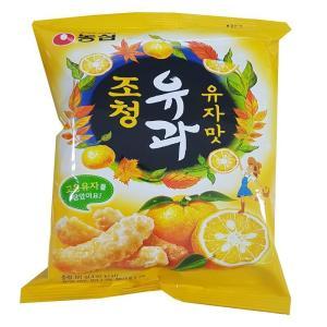 [메가마트] 조청유과 유자맛 80g