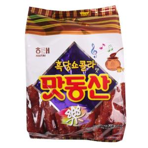 [메가마트] 해태)맛동산(흑당쇼콜라맛) 300g