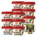 [동원] 양반 참치죽 6개+야채죽 6개+올리브 식탁김 3봉 증정