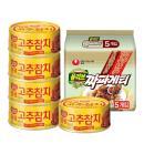 [동원] 고추참치 100g*5캔+짜파게티 5봉