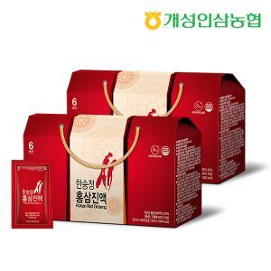 [개성인삼농협] 한송정 홍삼진액(30포) - 2박스