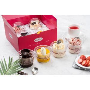 하겐다즈 프리미엄 아이스크림 컵케이크 4종 세트