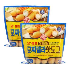 [오뚜기] 오쉐프_더 맛있는 모짜렐라 핫도그 (20개입)
