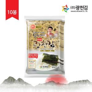 [매핑7호] 본사직배송 달인 김병만의 재래전장김 20g x 10봉