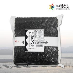 [광천김] 솔마루 곱창김 100매 (230g)