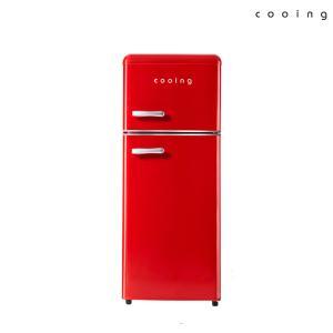 쿠잉 레트로 에디션 냉장고 115L REF-D121R