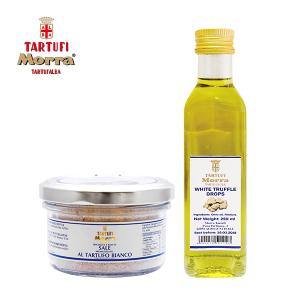 [타르투피모라] 화이트 트러플 오일 250ml + 소금 100g 세트
