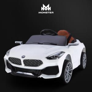 [몬스터토이즈] BMW Z4 유아 전동차 BMW 전동차 아기 자동차*사은품: 가죽시트 (색상: 오렌지/화이트)