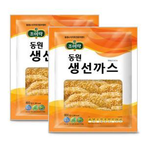 [만원의행복] [동원] 조이락 생선까스 800g*2