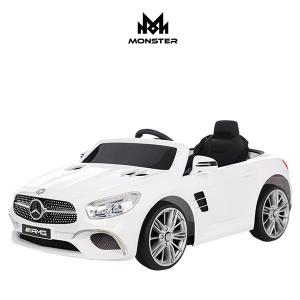[몬스터토이즈] Benz SL400 프리미엄 유아전동차 아기자동차 / 화이트, 레드