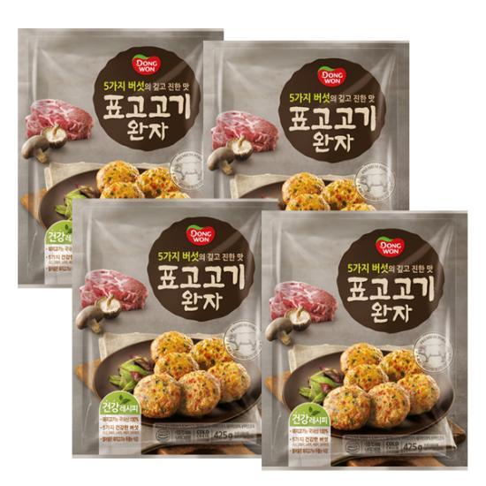 [동원] 표고 고기 완자425g*4