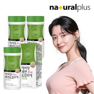 내츄럴플러스 에버핏 쾌변&알로에 60정 3통/3개월분