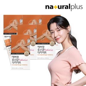내츄럴플러스 에버핏 유산균 다이어트 14포 6박스/12주분