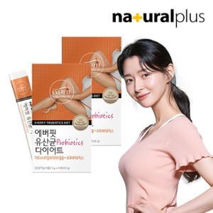 내츄럴플러스 에버핏 유산균 다이어트 14포 2박스/4주분